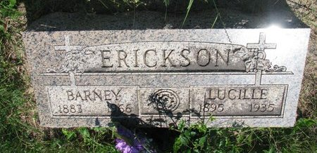 ERICKSON, BARNEY - Union County, South Dakota | BARNEY ERICKSON - South Dakota Gravestone Photos