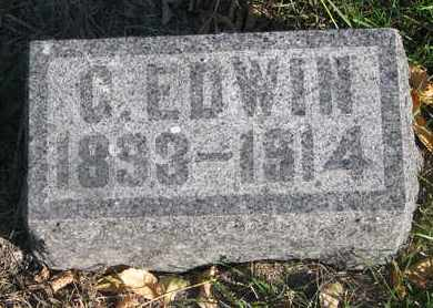 ERICKSON, C. EDWIN - Union County, South Dakota | C. EDWIN ERICKSON - South Dakota Gravestone Photos