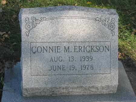 ERICKSON, CONNIE M. - Union County, South Dakota | CONNIE M. ERICKSON - South Dakota Gravestone Photos
