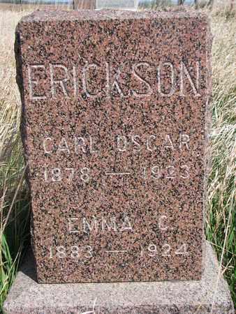 ERICKSON, CARL OSCAR - Union County, South Dakota   CARL OSCAR ERICKSON - South Dakota Gravestone Photos