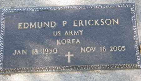 ERICKSON, EDMUND P. - Union County, South Dakota | EDMUND P. ERICKSON - South Dakota Gravestone Photos