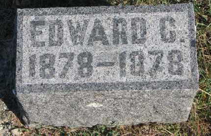 ERICKSON, EDWARD C. - Union County, South Dakota | EDWARD C. ERICKSON - South Dakota Gravestone Photos