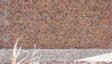 ERICKSON, EDLA V. (CLOSEUP) - Union County, South Dakota | EDLA V. (CLOSEUP) ERICKSON - South Dakota Gravestone Photos