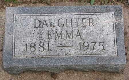 ERICKSON, EMMA - Union County, South Dakota | EMMA ERICKSON - South Dakota Gravestone Photos