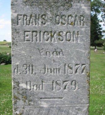 ERICKSON, FRANS OSCAR (CLOSEUP) - Union County, South Dakota   FRANS OSCAR (CLOSEUP) ERICKSON - South Dakota Gravestone Photos