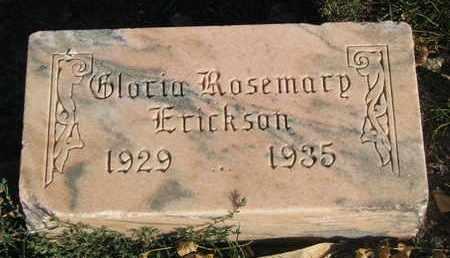 ERICKSON, GLORIA ROSEMARY - Union County, South Dakota   GLORIA ROSEMARY ERICKSON - South Dakota Gravestone Photos