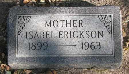 ERICKSON, ISABEL - Union County, South Dakota | ISABEL ERICKSON - South Dakota Gravestone Photos