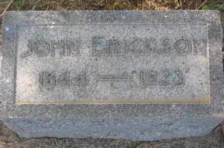 ERICKSON, JOHN - Union County, South Dakota | JOHN ERICKSON - South Dakota Gravestone Photos