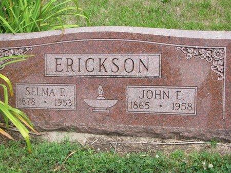 ERICKSON, JOHN E. - Union County, South Dakota | JOHN E. ERICKSON - South Dakota Gravestone Photos