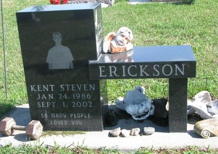 ERICKSON, KENT STEVEN - Union County, South Dakota   KENT STEVEN ERICKSON - South Dakota Gravestone Photos