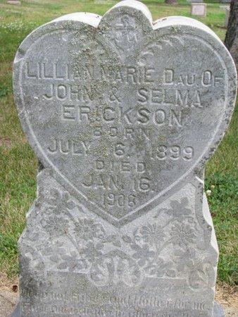 ERICKSON, LILLIAN MARIE - Union County, South Dakota | LILLIAN MARIE ERICKSON - South Dakota Gravestone Photos