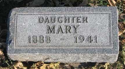 ERICKSON, MARY - Union County, South Dakota   MARY ERICKSON - South Dakota Gravestone Photos