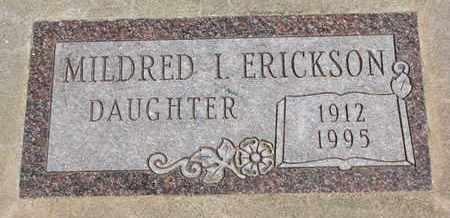 ERICKSON, MILDRED I. - Union County, South Dakota | MILDRED I. ERICKSON - South Dakota Gravestone Photos