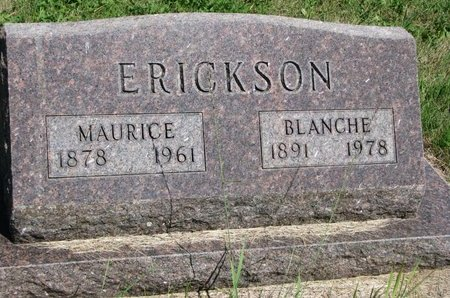 ERICKSON, BLANCHE - Union County, South Dakota | BLANCHE ERICKSON - South Dakota Gravestone Photos
