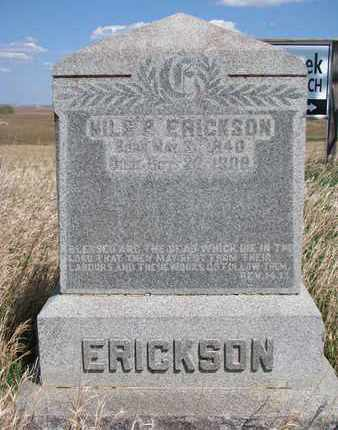 ERICKSON, NILS PETER - Union County, South Dakota | NILS PETER ERICKSON - South Dakota Gravestone Photos