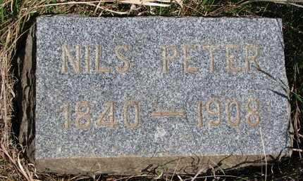 ERICKSON, NILS PETER (FOOTSTONE) - Union County, South Dakota | NILS PETER (FOOTSTONE) ERICKSON - South Dakota Gravestone Photos