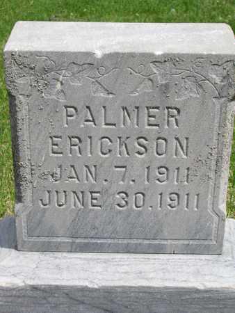 ERICKSON, PALMER - Union County, South Dakota   PALMER ERICKSON - South Dakota Gravestone Photos