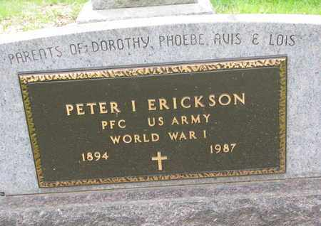 ERICKSON, PETER INGVALD (MILITARY) - Union County, South Dakota | PETER INGVALD (MILITARY) ERICKSON - South Dakota Gravestone Photos