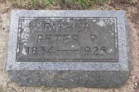 ERICKSON, PETER P. - Union County, South Dakota | PETER P. ERICKSON - South Dakota Gravestone Photos