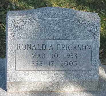 ERICKSON, RONALD A. - Union County, South Dakota | RONALD A. ERICKSON - South Dakota Gravestone Photos