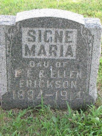 ERICKSON, SIGNE MARIA - Union County, South Dakota | SIGNE MARIA ERICKSON - South Dakota Gravestone Photos