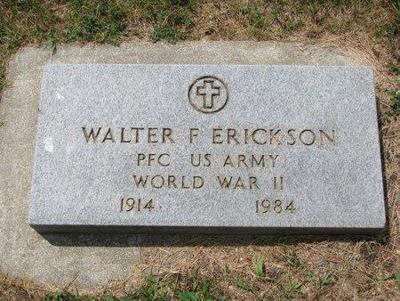 ERICKSON, WALTER F. (WORLD WAR II) - Union County, South Dakota | WALTER F. (WORLD WAR II) ERICKSON - South Dakota Gravestone Photos