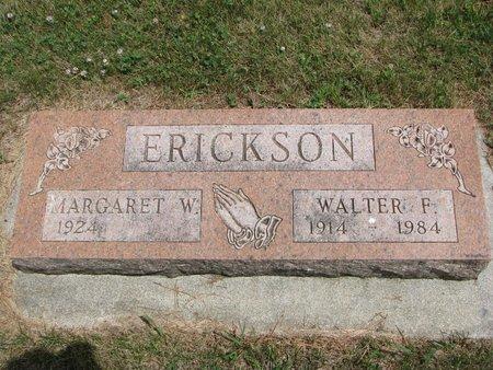 ERICKSON, WALTER F. - Union County, South Dakota   WALTER F. ERICKSON - South Dakota Gravestone Photos