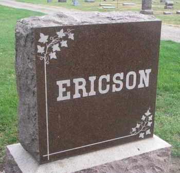 ERICSON, FAMILY STONE - Union County, South Dakota   FAMILY STONE ERICSON - South Dakota Gravestone Photos