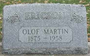 ERICSON, OLOF MARTIN - Union County, South Dakota | OLOF MARTIN ERICSON - South Dakota Gravestone Photos