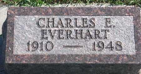 EVERHART, CHARLES E. - Union County, South Dakota | CHARLES E. EVERHART - South Dakota Gravestone Photos
