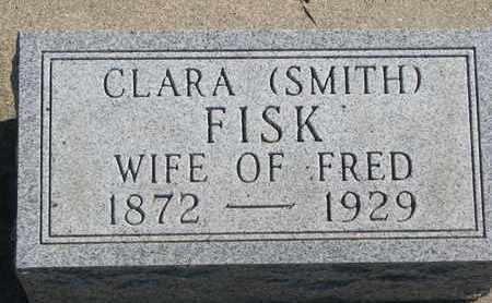 SMITH FISK, CLARA - Union County, South Dakota   CLARA SMITH FISK - South Dakota Gravestone Photos