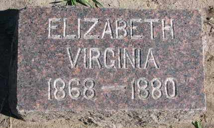 FISK, ELIZABETH VIRGINIA - Union County, South Dakota | ELIZABETH VIRGINIA FISK - South Dakota Gravestone Photos