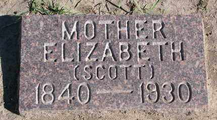 FISK, ELIZABETH - Union County, South Dakota | ELIZABETH FISK - South Dakota Gravestone Photos
