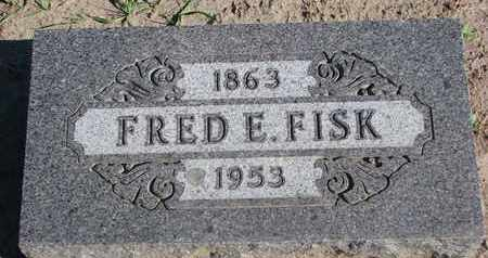 FISK, FRED E. - Union County, South Dakota | FRED E. FISK - South Dakota Gravestone Photos