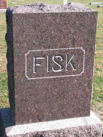 FISK, FAMILY STONE - Union County, South Dakota | FAMILY STONE FISK - South Dakota Gravestone Photos