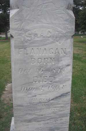 FLANAGAN, ISAAC N. (CLOSEUP) - Union County, South Dakota   ISAAC N. (CLOSEUP) FLANAGAN - South Dakota Gravestone Photos