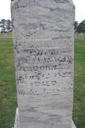FLANAGAN, MARY A. (CLOSEUP) - Union County, South Dakota   MARY A. (CLOSEUP) FLANAGAN - South Dakota Gravestone Photos