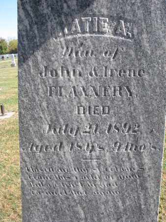 FLANNERY, KATIE A. (CLOSEUP) - Union County, South Dakota | KATIE A. (CLOSEUP) FLANNERY - South Dakota Gravestone Photos