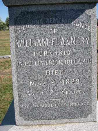 FLANNERY, WILLIAM (CLOSEUP) - Union County, South Dakota   WILLIAM (CLOSEUP) FLANNERY - South Dakota Gravestone Photos