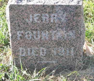 FOUNTAIN, JERRY - Union County, South Dakota | JERRY FOUNTAIN - South Dakota Gravestone Photos