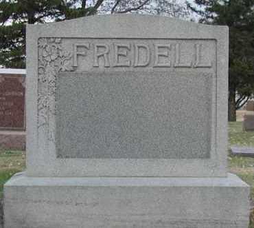 FREDELL, *PLOT - Union County, South Dakota | *PLOT FREDELL - South Dakota Gravestone Photos