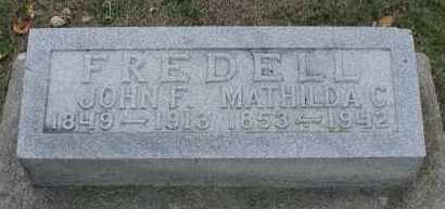 ANDERSON FREDELL, MATHILDA C. - Union County, South Dakota | MATHILDA C. ANDERSON FREDELL - South Dakota Gravestone Photos
