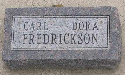 FREDRICKSON, DORA - Union County, South Dakota | DORA FREDRICKSON - South Dakota Gravestone Photos