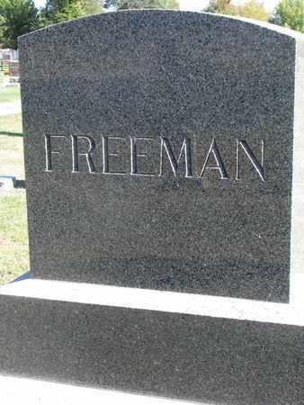 FREEMAN, FAMILY STONE - Union County, South Dakota   FAMILY STONE FREEMAN - South Dakota Gravestone Photos