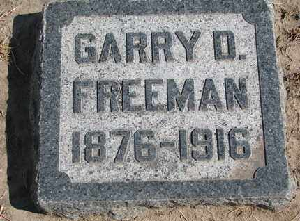 FREEMAN, GARRY D. - Union County, South Dakota | GARRY D. FREEMAN - South Dakota Gravestone Photos