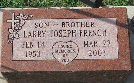 FRENCH, LARRY JOSEPH - Union County, South Dakota | LARRY JOSEPH FRENCH - South Dakota Gravestone Photos
