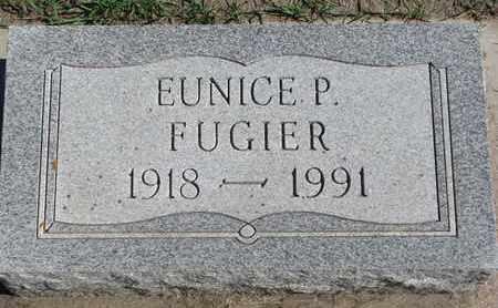 FUGIER, EUNICE P. - Union County, South Dakota   EUNICE P. FUGIER - South Dakota Gravestone Photos