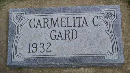 GARD, CARMELITA C. - Union County, South Dakota   CARMELITA C. GARD - South Dakota Gravestone Photos