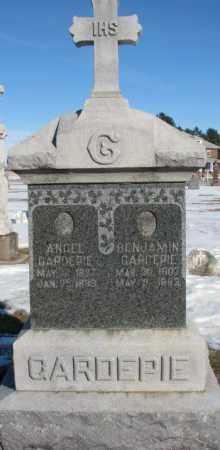 GARDEPIE, BENJAMIN - Union County, South Dakota | BENJAMIN GARDEPIE - South Dakota Gravestone Photos
