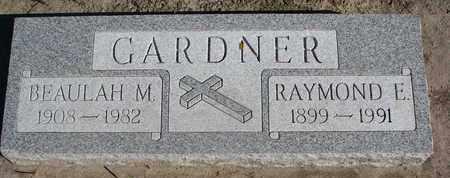 GARDNER, BEAULAH M. - Union County, South Dakota   BEAULAH M. GARDNER - South Dakota Gravestone Photos